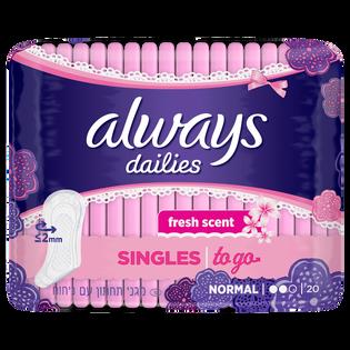 Always_Dailies_wkładki higieniczne, 20 szt./1 opak.