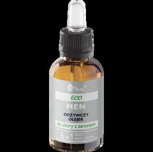 Ava_Eco Men_odżywczy olejek do skóry z zarostem, 30 ml_1