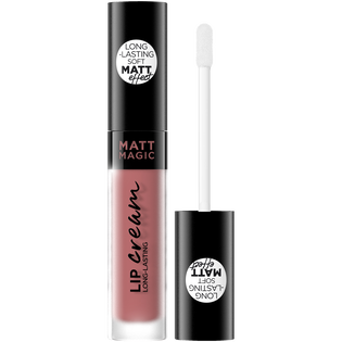 Eveline Cosmetics_Matt Magic Lip Cream_pomadka w płynie do ust lovely nude-rose 05, 4,5 ml