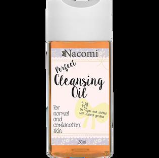 Nacomi_Perfect Cleansing Oil_olej do demakijażu do cery mieszanej, 150 ml