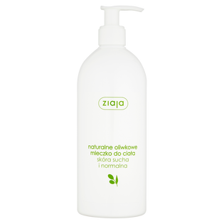 Ziaja_Naturalne_mleczko do ciała dla skóry suchej i normalnej, 400 ml
