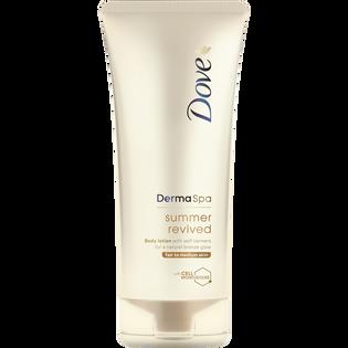 Dove_Derma Spa Summer_samoopalający balsam do ciała do jasnej i średniej karnacji, 200 ml