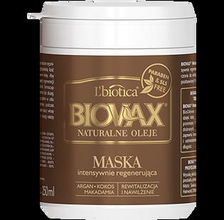 L'Biotica_Biovax_maska do włosów z olejkiem arganowym, kokosowym i makadamia, 250 ml_1