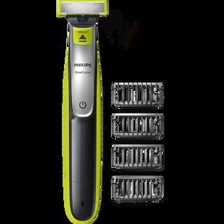 Philips_One Blade_zestaw: maszynka do golenia, 1 szt., nasadki, 4 szt._2