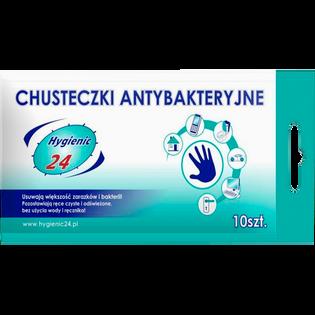 Avg_Hygienic_chusteczki do rąk z płynem antybakteryjnym, 10 szt./1 opak.