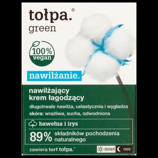 Tołpa_Green Nawilżanie_nawilżający krem łagodzący do twarzy na dzień i na noc, 50 ml