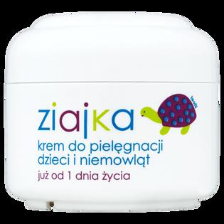Ziaja_Ziajka_krem dla dzieci i niemowląt już od 1 dnia życia do pielęgnacji ciała oraz miejsc narażonych na otarcia, 50 ml