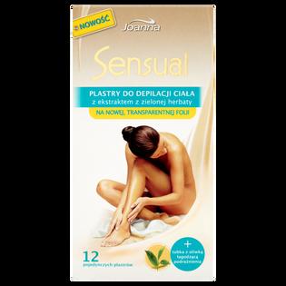 Sensual_plastry do depilacji ciała, 12 szt./1 opak.