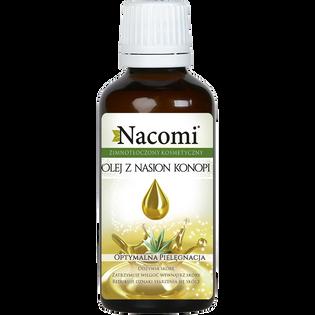 Nacomi_olej z konopi indyjskiej dla skóry naczynkowej, 50 ml