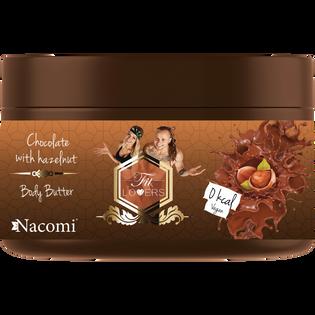 Fit Lovers By Nacomi_Czekolada z orzechami_regenerujące masło do ciała, 200 ml