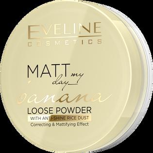Eveline Cosmetics_Matt My Day_puder sypki banana powder, 6 g