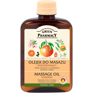 Green Pharmacy_Rozgrzewający_rozgrzewający olejek do masażu, 200 ml