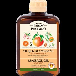 Green Pharmacy_Rozgrzewający_olejek do masażu, 200 ml