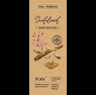 Stara Mydlarnia_Sandalwood_odżywczy balsam do ciała, 200 ml_2