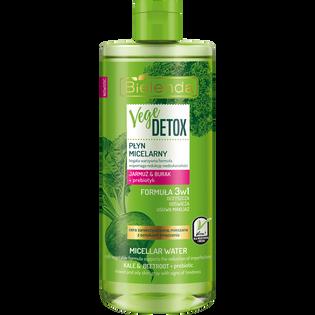 Bielenda_Vege Detox_płyn micelarny jarmuż & burak + prebiotyk, 500 ml