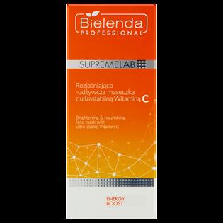 Bielenda Professional_Energy Boost_rozjaśniająco-odżywcza maseczka z ultrastabilną witaminą C, 70 ml_2