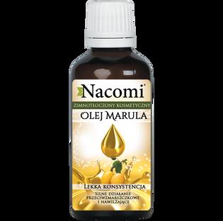 Nacomi_olej marula do twarzy, ciała i włosów dla skóry dojrzałej i suchej, 50 ml