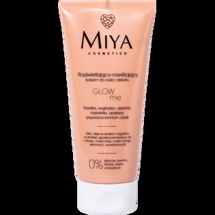 Miya Cosmetics_Glow Me_rozświetlająco-nawilżający balsam do ciała i dekoltu, 200 ml_1