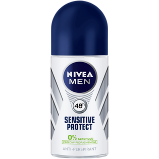 Nivea Men_Sensitive Protect_antyperspirant męski w kulce, 50 ml