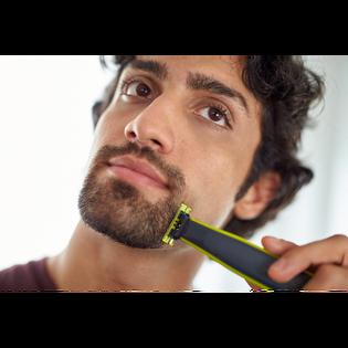 Philips_OneBlade QP2530/20_zestaw do twarzy: maszynka do golenia, 1 szt. + nasadki, 4 szt. + ładowarka, 1 szt._11
