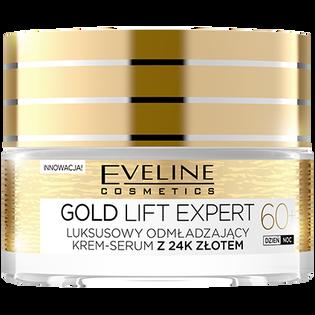 Eveline Cosmetics_Gold Lift Expert_odmładzający krem-serum do twarzy na dzień i noc 60+, 50 ml_1