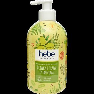 Hebe Cosmetics_Oliwka i trawa cytrynowa_kremowe mydło w płynie, 500 ml_1