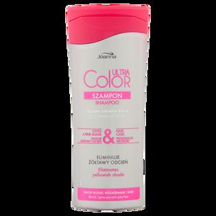 Joanna_Ultra Color_szampon do włosów nadający różowy odcień, 200 ml