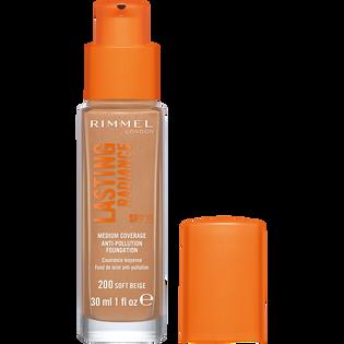 Rimmel_Lasting Radiance_rozświetlający podkład do twarzy soft beige 200, SPF, 30 ml_2