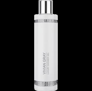 Vivian Gray_White Crystals_nawilżający żel pod prysznic, 250 ml