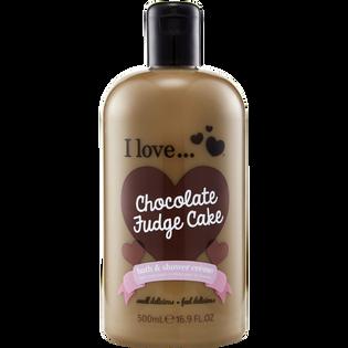 I Love_Chocolate Fudge Cake_kremowy żel pod prysznic, 500 ml