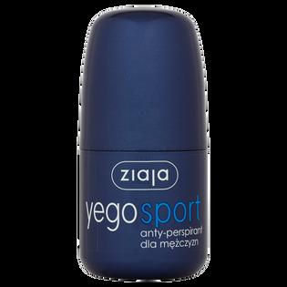 Ziaja_Yego Sport_antyperspirant męski w kulce, 60 ml