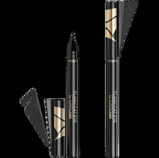 Loreal Paris_Super Liner Flash Cat_eyeliner black 01, 1 szt.