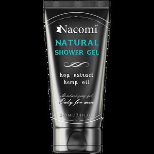 Nacomi_Natural_męski żel pod prysznic do twarzy i ciała, 200 ml