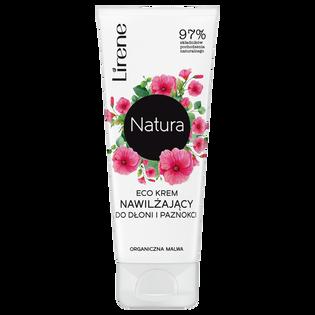 Lirene_Natura Eco_nawilżający krem do rąk i paznokci, 75 ml