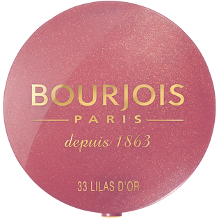 Bourjois_Little Round Pot Blusher_róż do policzków 33 lilas d'or, 2,5 g