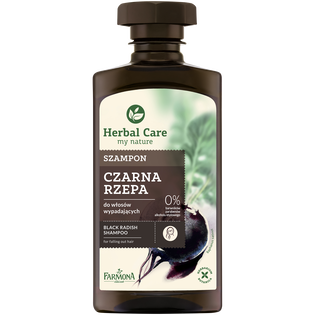 Herbal Care_szampon do włosów przetłuszczających się, 330 ml