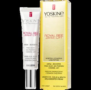 Yoskine_Royal Bee_krem-booster pod oczy, na powieki i wokół ust przeciw zmarszczkom i oznakom zmęczenia, 15 ml