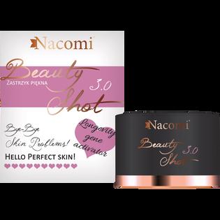 Nacomi_Beauty Shot_serum-krem do twarzy nawilżające i przeciwzmarszczkowe do codziennej pielęgnacji 30+, 30 ml