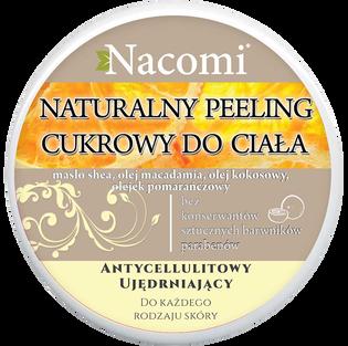 Nacomi_peeling cukrowy do ciała o zapachu pomarańczowego sorbetu, 200 ml