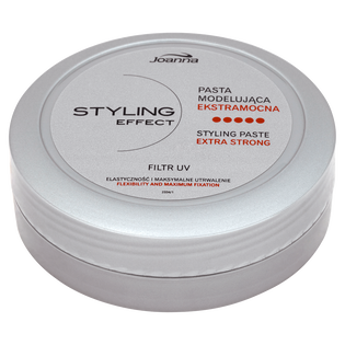 Joanna_Stylling Effect_ekstra mocna pasta modelująca do włosów, 80 g
