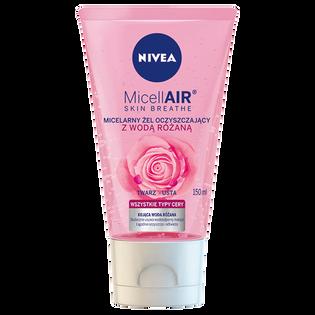 Nivea_MicellAir Skin Breathe_żel micelarny do twarzy z wodą różaną, 150 ml