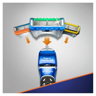 Gillette_Fusion Proglide Styler_maszynka do golenia z trymerem elektrycznym, 3w1, 1 szt._7