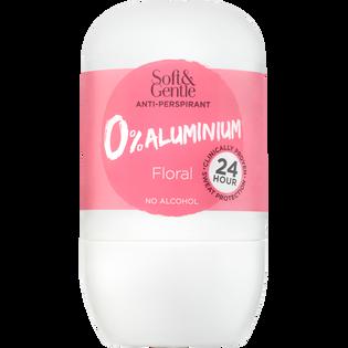 Soft And Gentle_Floral_antyperspirant w kulce bez aluminium o delikatnym, letnim, różanym zapachu, 50 ml