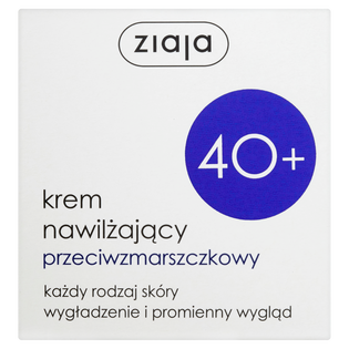 Ziaja_krem do twarzy nawilżający i przeciwzmarszczkowy 40+, 50 ml