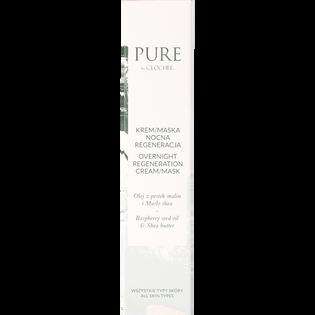 Pure By Clochee_regenerujący krem-maska nocna do twarzy, 50 ml_2