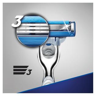 Gillette_Mach3 Turbo_maszynka do golenia męska, 1 szt., wkłady, 2 szt./1 opak._3
