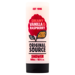 Original Source Creamy Vanilla & Raspberry