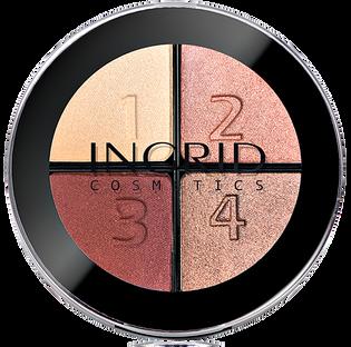 Ingrid_Smoky_paleta cieni do powiek 118, 7 g