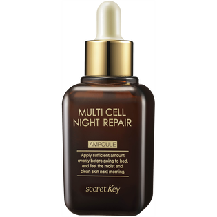 Secret Key_naprawcza ampułka do twarzy z komórkami macierzystymi na noc, 50 ml