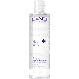 Bandi_Clean skin_kojący płyn micelarny do demakijażu twarzy, oczu i ust, 240 ml
